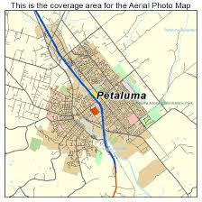 petaluma ca map aerial photography map of petaluma ca california