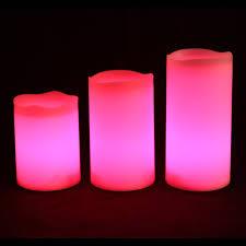 amazon com fun candles ics 3 weatherproof outdoor and indoor