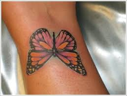 butterfly designs on black skin tattooic