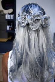 japanesse women with grey hair love cute fashion japan japanese kawaii creepy model colored color