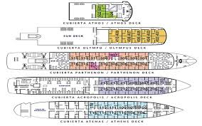 cruise ship floor plans skorpios ii cruises of southern chile with pictures rates and