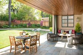 outdoor living floor plans 6 design ideas to perk up your outdoor living space with color