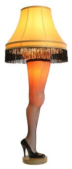 a christmas story leg l lights a christmas story 50 deluxe full size leg l major award