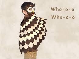 owl costume kids costume owl costume kids bird wings and mask owl mask