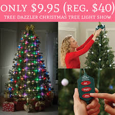 only 9 95 regular 40 tree dazzler christmas tree light show