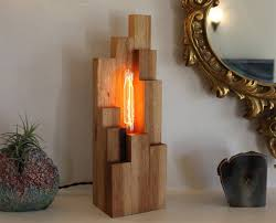 funky handmade table lamps for your home full home living