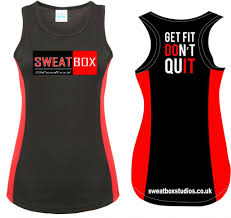 sweatbox ladies cool tech vest ral jc016 10 00 ambition sport