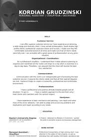Sample Resume Masters Degree by Personal Assistant Resume Samples Visualcv Resume Samples Database
