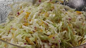 salad recipe how to make cabbage coleslaw youtube