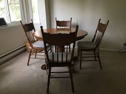 round table palo alto dining table around and 4 chairs furniture in palo alto ca