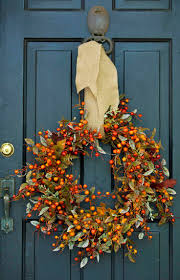 Halloween Wreath Ideas Front Door 73 Best Front Door Porch Fall Decor Images On Pinterest Fall