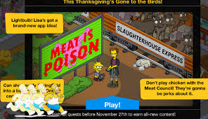turbo tappin animal free thanksgiving 2017 questline and