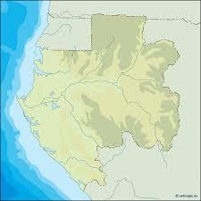 gabon in world map vector maps cartographers from barcelona vector maps