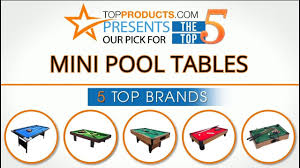 Best Pool Table Brands by Best Mini Pool Table Reviews 2017 U2013 How To Choose The Best Mini