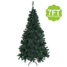 7ft artificial pvc christmas tree w stand holiday season indoor