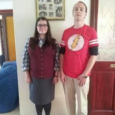 Sheldon Cooper Halloween Costume Big Bang Theory Cosplay Sheldon Amy Geek