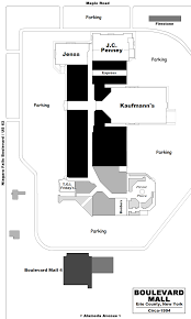 Garden State Plaza Floor Plan Mall Hall Of Fame July 2007