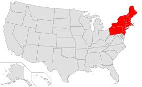 usa map northeastern states file map of usa highlighting northeast png wikimedia commons