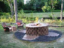 Build A Firepit How To Build Firepit Fireplaces Firepits How To Build A