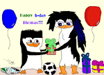 Wallpapers Backgrounds - Emma Penguin Happy birthday tom (clubs emma penguin title happy birthday tom fanpop 1256x916)