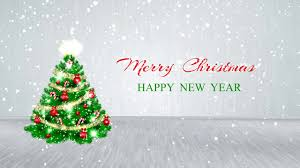 merry happy new year 2018 motion background free hd