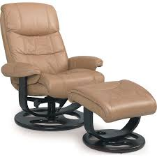 incredible scansit 110 ergonomic leather recliner chair ottoman