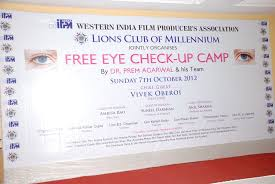 7th october 2012 free eye check up camp wifpa