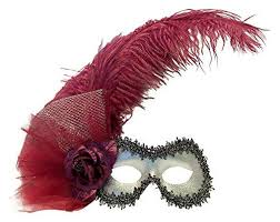 feather masks feather masquerade masks ostrich peacock and fab feathered