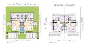 Duplex Floor Plan by Precinct Premiere Phase 2 Hock Seng Lee Berhad Hsl Property