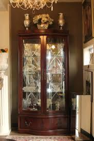 lighted curio cabinet oak lighted curio cabinet beautiful estate sales and appraisals tn oak