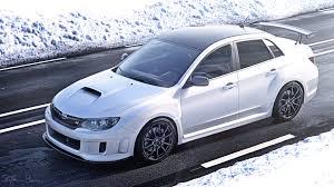 subaru snow beast in the snow subaru wrx sti