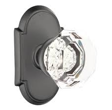 Emtek Glass Cabinet Knobs Emtek Old Town Clear Crystal Door Knob Shop Glass Door Knobs At