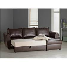 Bed Design With Storage by Corner Leather Sofa Bed With Storage Revistapacheco Com