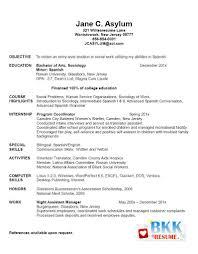 nursing student resume for internship it graduate resume sle europe tripsleep co