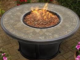 tk classics balmoral aluminum propane fire pit table u0026 reviews