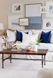 living room wooden table rustic chic living room ideas diy coffe