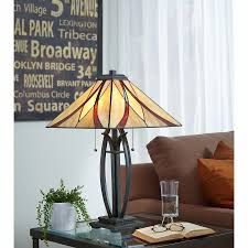 Quoizel Glenhaven Table Lamp Decoration Scenic Quoizel Lamp Small Glass Table Lamp Organic Look