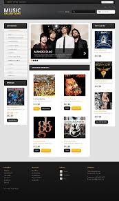 it u0027s time to tune in 20 best music online store templates