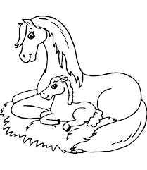 dessin de cheval a imprimer dessincoloriage