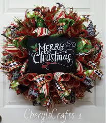 christmas wreaths best 25 christmas mesh wreaths ideas on deco mesh