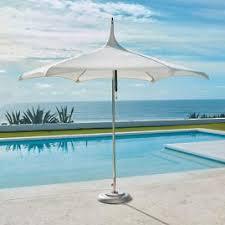 Frontgate Patio Umbrellas Outdoor Cantilever Umbrellas Side Mount Umbrella Frontgate