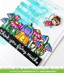 a fairy friends card by samantha lawn fawnatics
