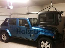 how to store jeep wrangler top 10 best hardtop hoist images on jeep stuff garage