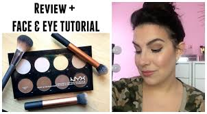 professional makeup artist nyc nyx highlight contour pro palette review tutorial