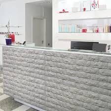 brick peel u0026 stick pe wallpaper 3d effect 10 sheets 48 4 sq ft