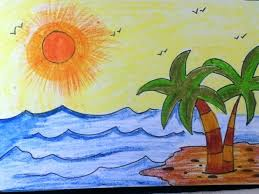 easy to draw landscapes simple landscape drawing how to draw a