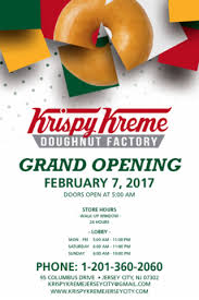 krispy kreme grand opening tuesday february 7 2017