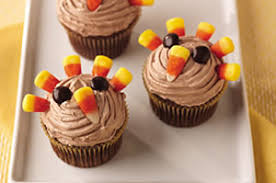 21 thanksgiving cupcakes