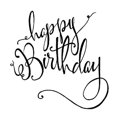 25 unique happy birthday typography ideas on