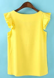 yellow blouse yellow blouse blouse on etsy 50 88 sewing ideas